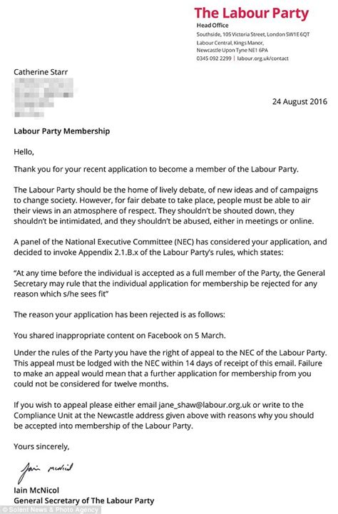 Explanation Letter Not Hitting Quota thread for anyone to explain why labour would do better