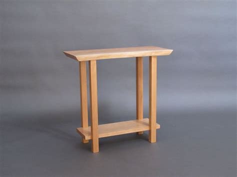 thin accent table live edge narrow side table small occasional table live