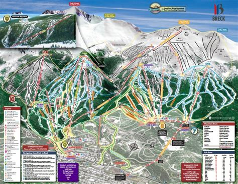 breckenridge ski map breckenridge ski resort map