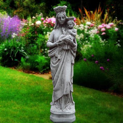 Dachshund Planter mother mary baby jesus religious statue large onefold uk