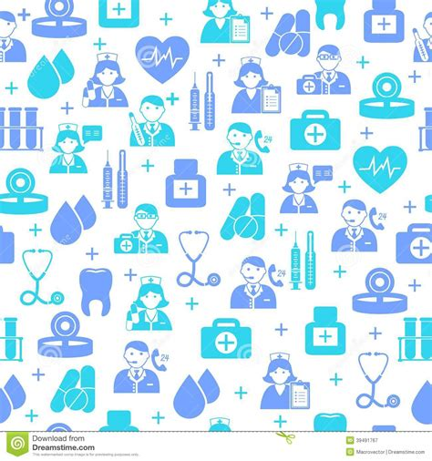 free medical background pattern medical seamless pattern background stock vector