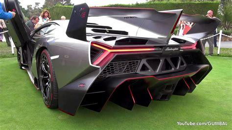 Lamborghini Veneno SOUND! Start Up   Driving On The Road
