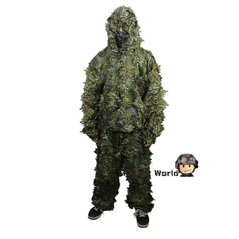 On Our Radar Navy Turns New Leaf by Airsoft 3d Leaf Camo Clothing Ghillie Suit