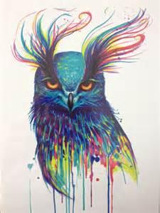 achetez en gros color 233 hibou tatouages en ligne 224 des