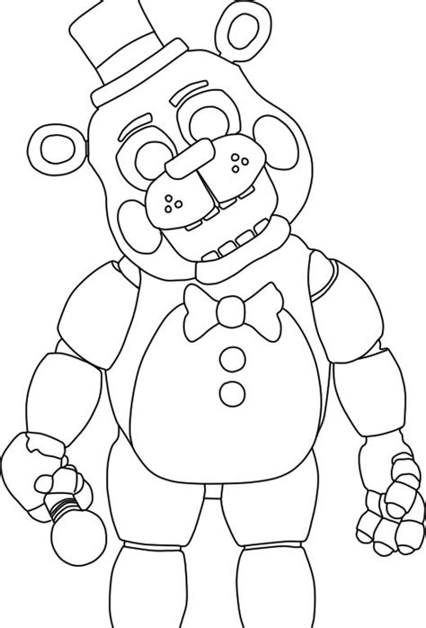 Fnaf 2 Coloring Pages by Five Nights At Freddy S Coloring Pages Search
