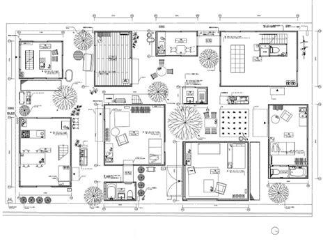Moriyama House Plan Amassing Design Moriyama House Sanaa Kazuyo Sejima