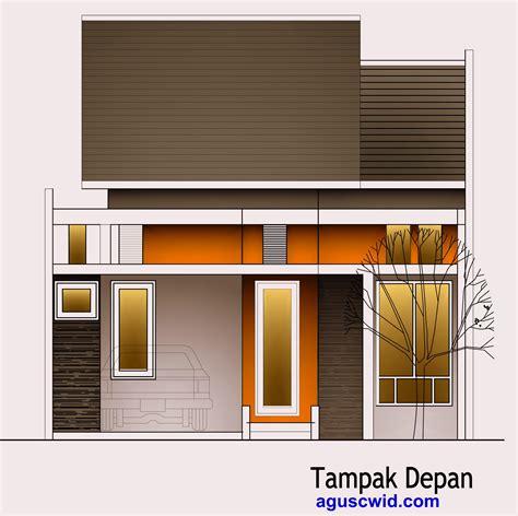 rumah sederhana berkamar tiga di lahan 6x12 5m tipe padas tak rumah 8x13 febri aguscwid com aguscwid com