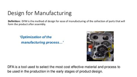design for manufacturing and assembly handbook designing product for the customer house of quality matrix