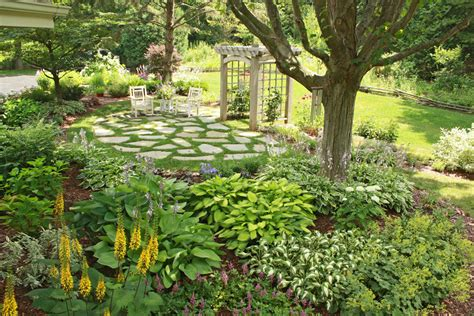 photos of gardens shade garden basics hawks landscape inc