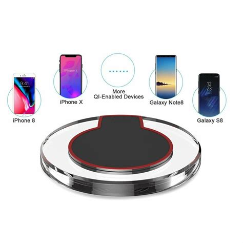 smart qi wireless charging pad  iphone  iphone  galaxy note