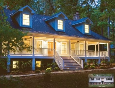 split level remodel traditional exterior by sun design remodeling specialists