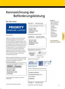 Post Schweiz Brief International Was Bedeutet Eigentlich Priority Beim Brief International Versand 01 08 2012 Servicew 252 Ste
