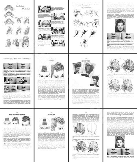 vintage hairstyles book pdf another book i want how to do 1940s hairstyles and make