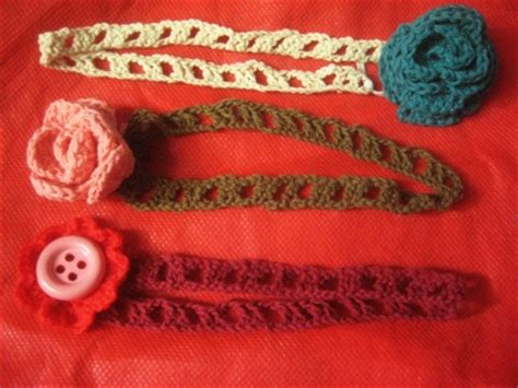 Tutorial Headband Rajut | crochet tutorial bando bayi rajut simple
