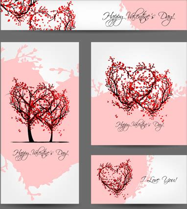 creative valentines for creative hearts valentines day cards free vector in