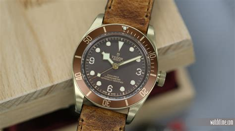 Tudor Black Bay Bronze Zfactory Swiss Eta Ultimate Clone borrowed time a week with the tudor heritage black bay bronze watchtime usa s no 1