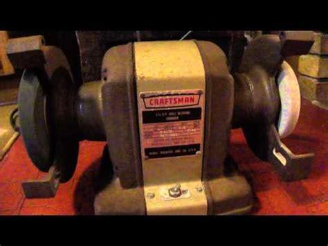 vintage craftsman bench grinder vintage craftsman 1 4 hp bench grinder mod 397 19501