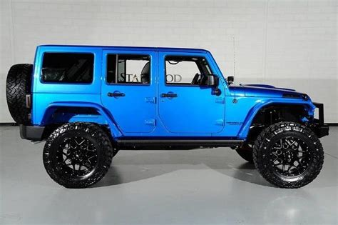 jeep lifted blue 1c4hjwfg9gl219751 2016 jeep wrangler rubicon lifted blue