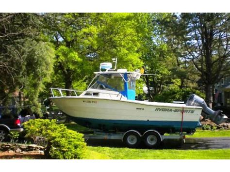 hydra sport boats for sale in new jersey 1988 hydra sports vx2500 powerboat for sale in new jersey