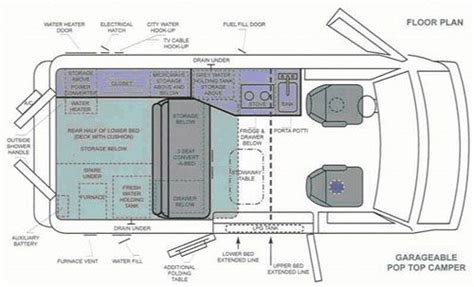 conversion van floor plans floor plan for van conversion cing in a van pinterest