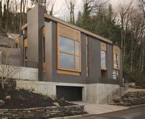 Mountainside Home Plans modern mountainside house in portland oregon