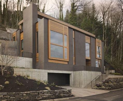 modern mountainside house in portland oregon modern
