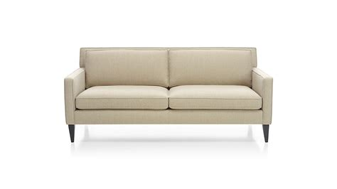 couch for apartment sofa apartment petrie modern tufted sofa crate and barrel