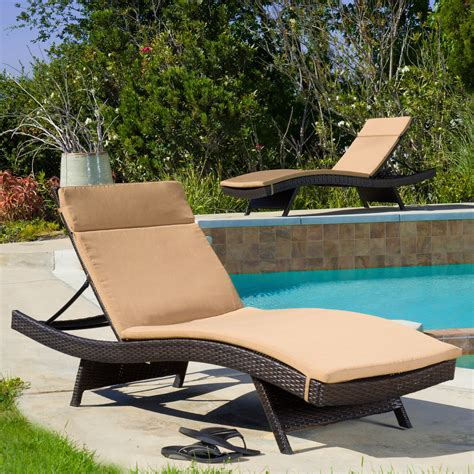 Lounge Chairs For Deck by Patio Chaise Lounge As The Must Furniture In Your