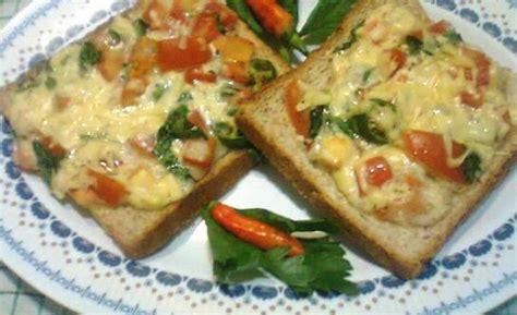 resep membuat roti tawar untuk roti bakar resep membuat roti panggang keju cabai lezat dan enak