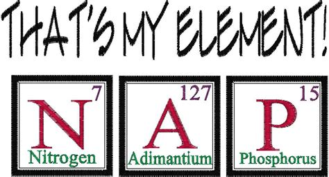 Periodic Table Joke by Items Similar To Periodic Table Joke Design Nap Embroidery