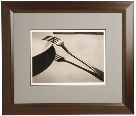matted in a wood frame tuxedo frame gallery