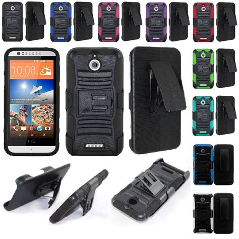 rugged cell phone cases for htc desire 510 rugged cell phone hybrid cover belt clip holster ebay