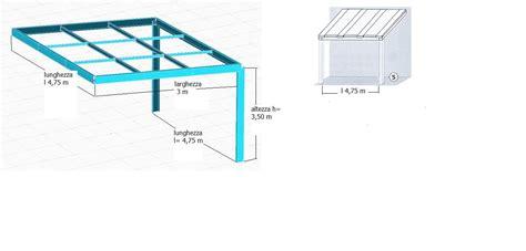 tettoia addossata tettoia madehome per chiudere cortile in ferro e