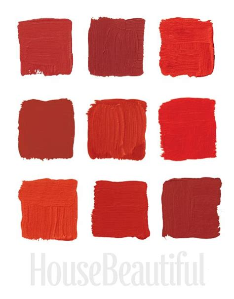 different reds 25 best red color pallets trending ideas on pinterest