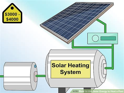 Pompa Filter Solar 3 ways to use solar energy to heat a pool wikihow