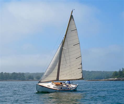 knockabout boat 1995 custom alden knockabout sail boat for sale www