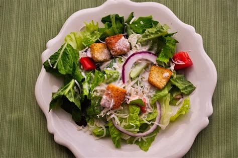 1 serving of olive garden salad the of everyday cooking