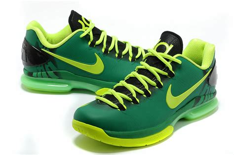 green basketball shoes comfortable nike kevin durant 5 low black green basketball