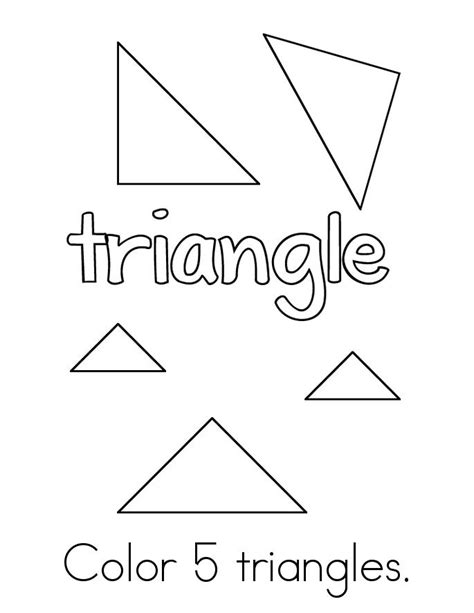 triangles 2 books color the triangles book twisty noodle