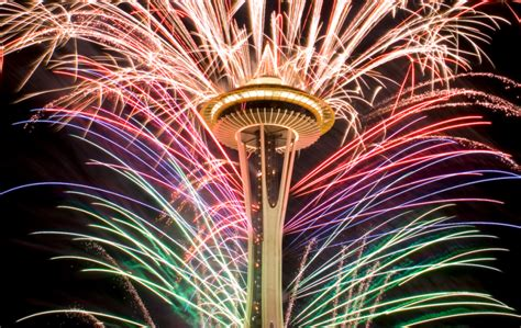 new years space needle event new years dock fireworks blast dec