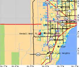 where is kendall florida on a map kendall west florida fl 33185 profile population maps