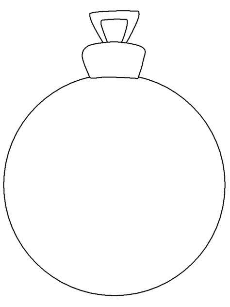 Free An Ornament Coloring Pages Ornaments To Color