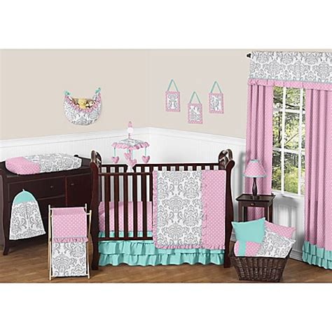 Jojo Design Crib Bedding Buy Sweet Jojo Designs Skylar 11 Crib Bedding Set From Bed Bath Beyond