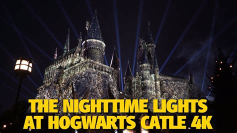hogwarts light orlando the nighttime lights at hogwarts castle universal