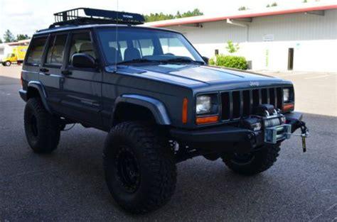 2001 Jeep Sport Lift Kit Buy Used 2001 Jeep Sport 4x4 Xj Fully Built 4 5