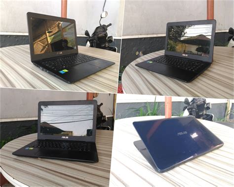 laptop bekas asus xld core  haswell jual laptop
