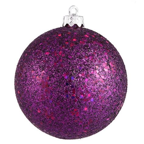 plum color christmas tree decorations vickerman 34948 4 quot plum sequin tree ornament 6 pack n591026dq elightbulbs