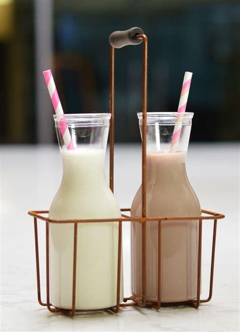 mini milk bottles hit   retro note  cambro blog