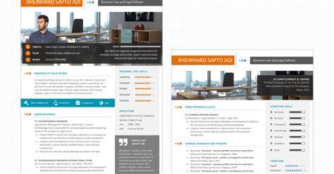 desain kreatif powerpoint desain cv kreatif desain cv kreatif dan menarik excenta06