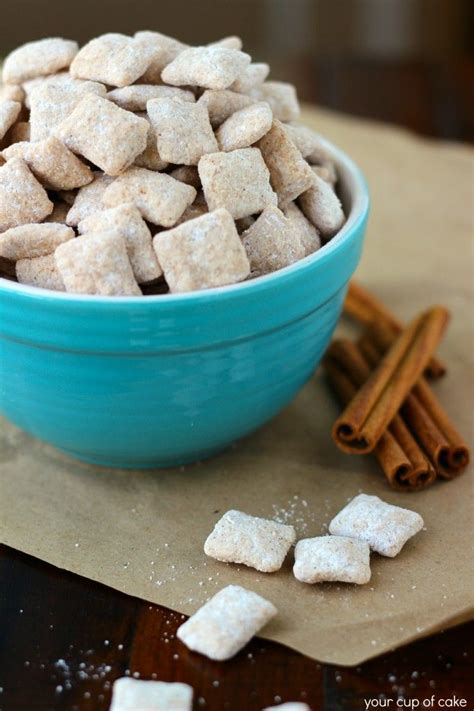 rice chex puppy chow snickerdoodle puppy chow snickerdoodle puppy puppychow puppy chow recipes sweet